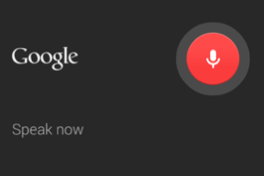 Android/Google - Speak Now